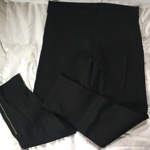 GAP Ponte Pant with Zipper Detail